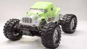 1/8Th Scale Exceed RC Monster Truck RTR MadBeast 2 Speed Yellow Version Almost Ready to Run ARTR