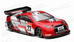 Exceed RC 1/18 Mad Pulse Brushless Drift Car Ready to Run (Fire Red)