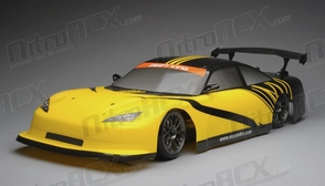 Exceed RC 2.4Ghz MadSpeed Drift King 1/10 Electric Ready to Oval  Drift Car(Yellow/Black)