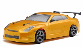 Exceed RC 2.4Ghz MadSpeed Drift King 1/10 Electric Ready to Run Drift Car   RTR (SK-Yellow)