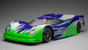 Exceed RC 2.4Ghz MadSpeed Drift King 1/10 Electric Ready to Run Le Mans Drift Car(Green/Purple)