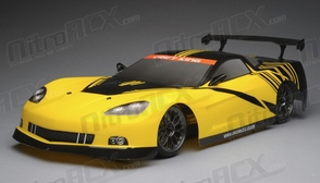 Exceed RC 2.4Ghz MadSpeed Drift King 1/10 Electric Ready to Run Vette Drift Car(Yellow/Black)