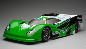 Exceed RC 2.4Ghz MadSpeed Drift King Brushless Edition 1/10 Electric Ready to Run  Le Mans Drift Car  (Green)