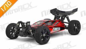 Iron Track RC  Tanto 1:10 Scale 4WD Electric Buggy Ready to Run (Red)