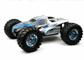 NEW Exceed RC 1/8 GP MadStorm 2.4 GHz Nitro RC Monster Truck w/ .21 Gas Engine RTR for Beginners [Alpha Blue]