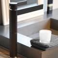 CASO BLACK MAT DESIGNER BATHROOM FAUCET