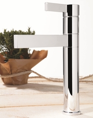 Caso Max Ultra Modern Bathroom Faucet | Brushed Nickel