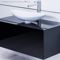 Chic Modern Italian Bathroom Fixture Selection