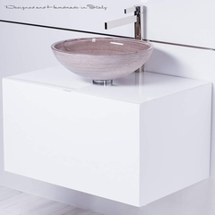 Contemporary Chic Italian Bathroom Fixture Selection