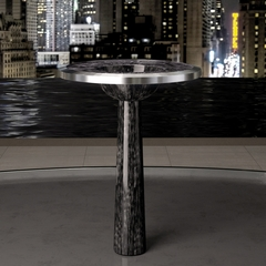 Contemporary Free Standing ALUMIX BJ BLACK SILVER