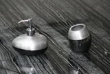 GLAMOUR SET BLACK SILVER | Luxury Bathroom Set