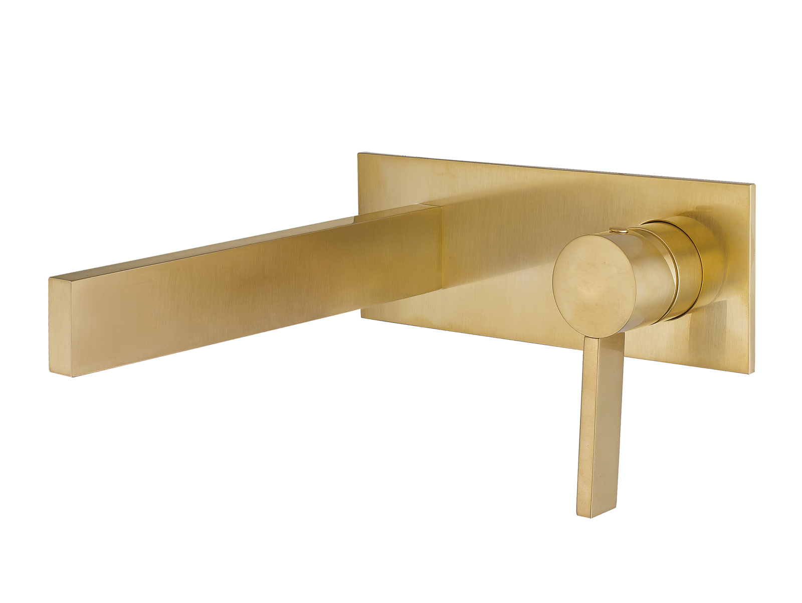 Wall Bathroom Faucet Wall Mount Bathroom Faucet Caso Brushed Gold