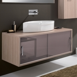 Giva_03 Maple Contemporary Wall Mount  Bathroom Vanity