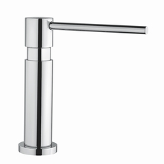 Modern Kitchen Soap Dispenser | Brushed Nickel