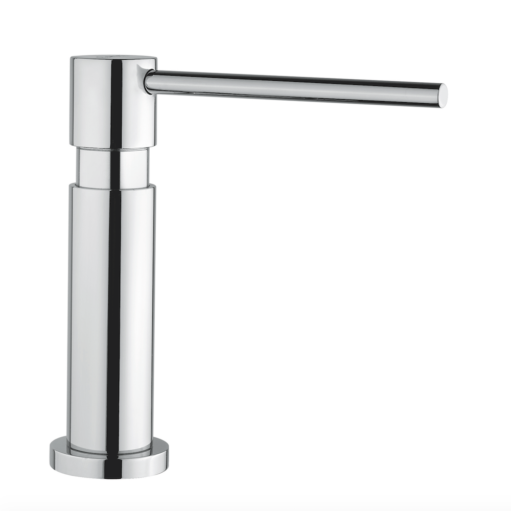 Modern Kitchen Soap Dispenser Chrome Finish