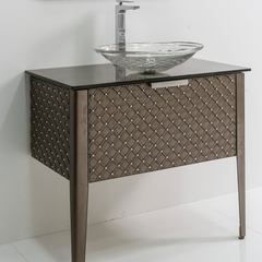 MURANO GLASS VANITY 34"