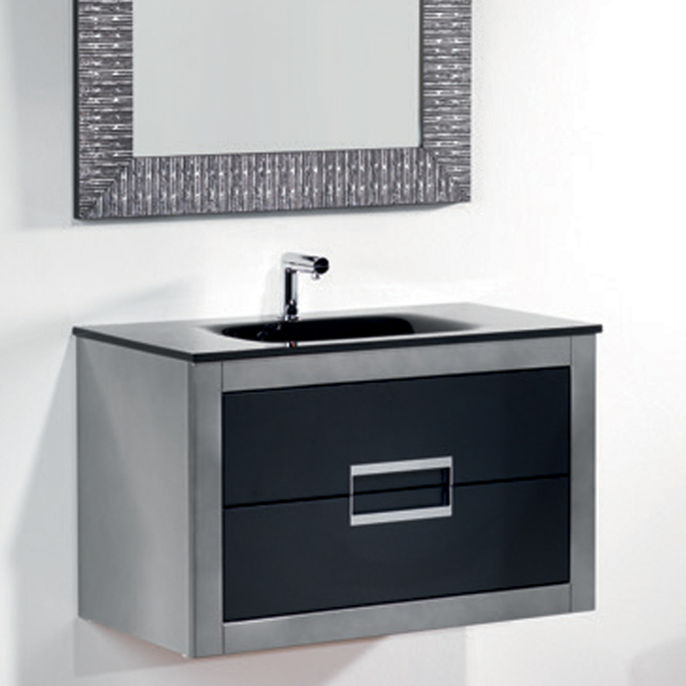 Modern Bathroom Vanities Small modern bathroom vanity set katana. modern bathroom vanity lana