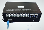 MC-FXO-8 and MC-FXS-8, 8 Channel POTS Phone Line over Fiber Converter