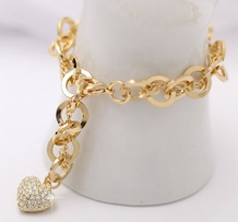 14K Gold Plated Bracelet (RC_CR49)