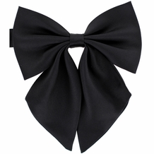 Bow Ties for Women & Ladies (W23, Black)