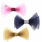 Tok Tok Designs� Handcrafted Hair Clips (H1-3, 3 PACK)
