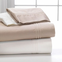 DreamFit Supima 600tc Sateen Weave Sheet Set