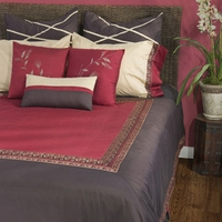 Home Texco by Rizzy Home Crimson Bedding Set