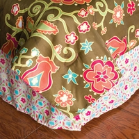 Home Texco by Rizzy Home Kids Suzi Q Bed Skirt