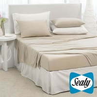 Sealy Embody Smart Touch Sheet Set in Cappuccino by Pacific Coast Feather