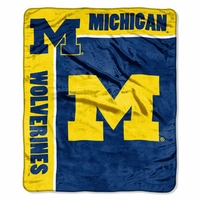 University of Michigan Raschel Throw by Northwest Company