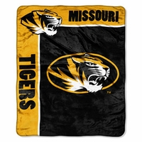 University of Missouri Raschel Throw by Northwest Company