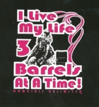 3 at a time- Cowgirls Unlimited Western T-Shirt
