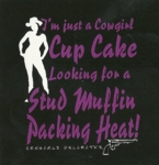 Cup Cake- Cowgirls Unlimited Western T-Shirt