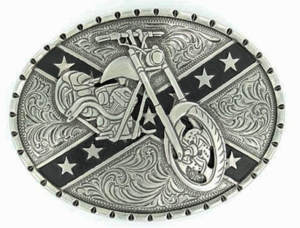 Nocona Rebel Motorcycle Buckle 37920