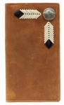 Nocona Buffalo Nickel Concho Rodeo Wallet N5434044