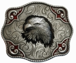 Nocona Eagle Head Buckle 37948