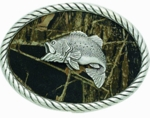 Nocona Mossy Oak Bass Buckle 3707658