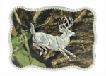 Nocona Mossy Oak Buck Buckle 37960