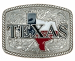 Nocona Red, White and Blue Texas Buckle 37924