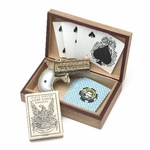 Old West Boxed Doc Holiday Gambler Derringer Set