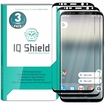 IQ Shield� Tempered Glass � Galaxy S8+ Glass Screen Protector (S8 Plus)(Black)
