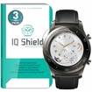 [3-Pack] IQ Shield� Tempered Glass � Huawei Watch 2 Classic Glass Screen Protector