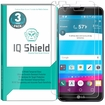 [3-Pack] IQ Shield� Tempered Glass � LG G6 Glass Screen Protector