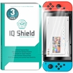 [3-Pack] IQ Shield� Tempered Glass � Nintendo Switch Glass Screen Protector