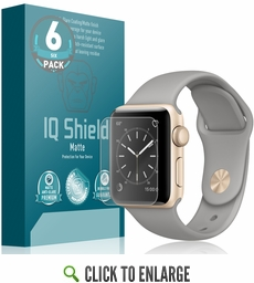 Apple Watch Series 2 38mm Matte Screen Protector 6-Pack