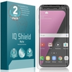 Galaxy S8+ Matte Screen Protector (2-Pack)(Case Friendly & Edge to Edge)
