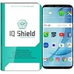 IQ Shield� Tempered Glass � Galaxy S8 Glass Screen Protector (Black)
