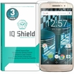 IQ Shield� Tempered Glass � Motorola Moto M Glass Screen Protector (3-Pack)