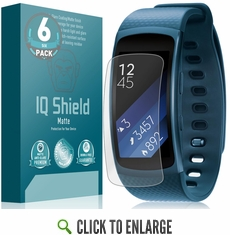 Samsung Gear Fit 2 Matte Screen Protector (6-Pack)