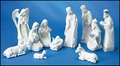 11-Pc Holy Family Nativity Set